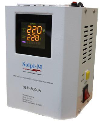 Стабилизатор напряжения SOLPI-M SLP-500 BA