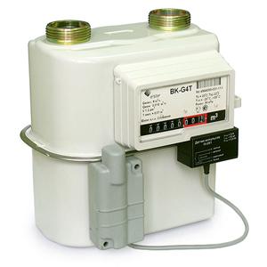 Счетчик газа бытовой ВК-G4Т