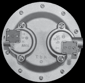 Блок клапанов 3226-02.300 (составная часть узла водогазового)